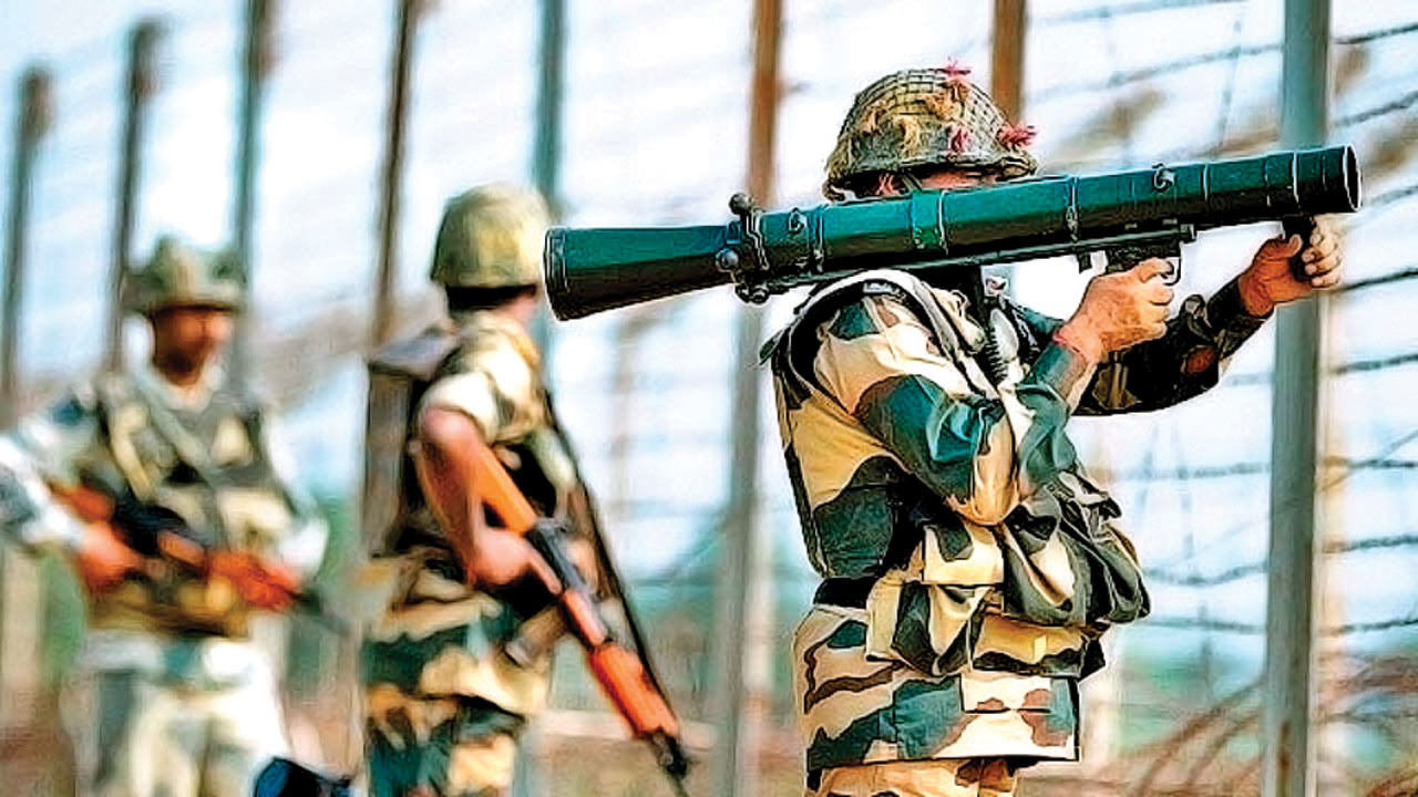 Ceasefire violation by Pakistan continues at LoC
