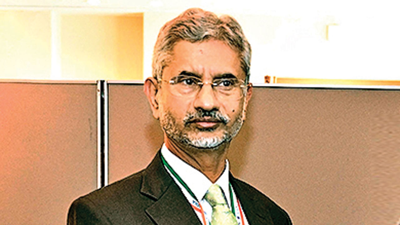 Cricket doesn't go with terror: EAM S Jaishankar