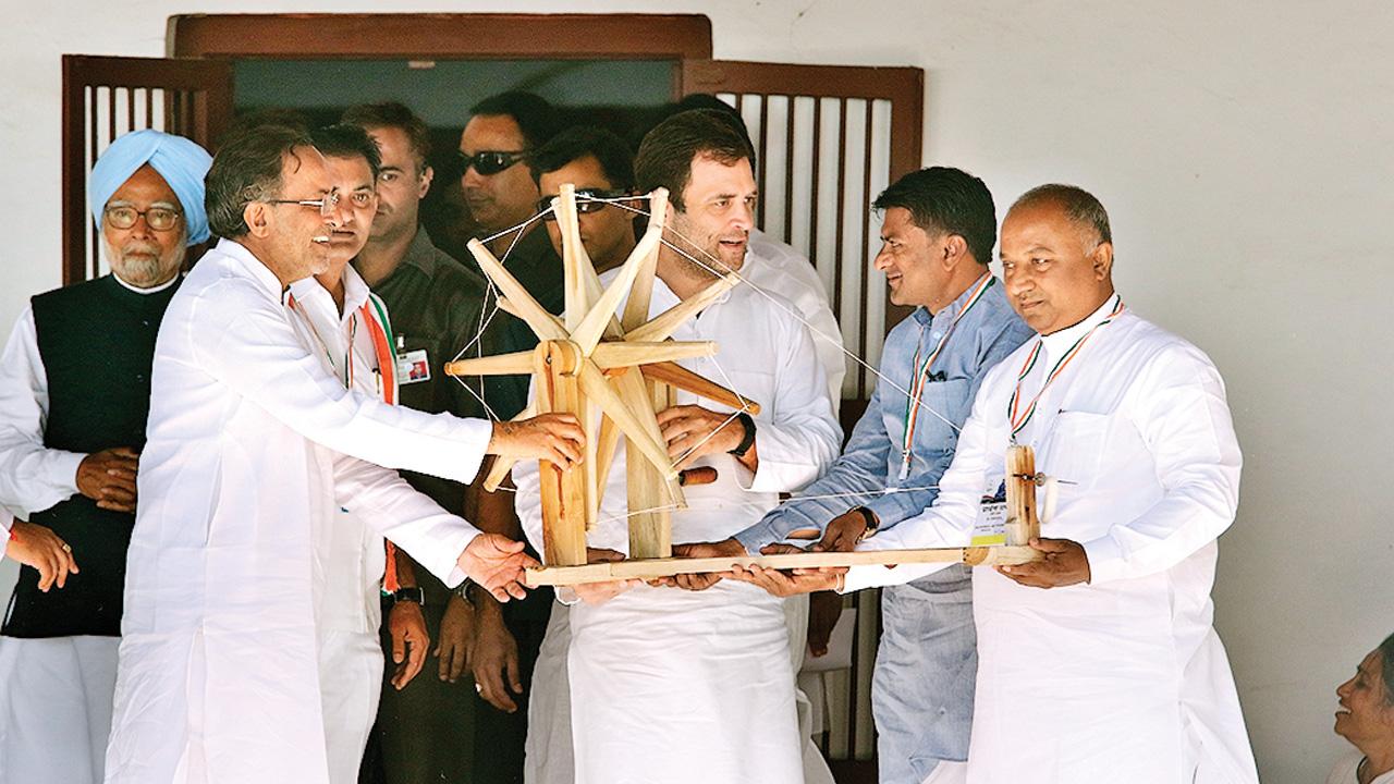 Congress returns to Mahatma Gandhi to revive its dwindling fortunes