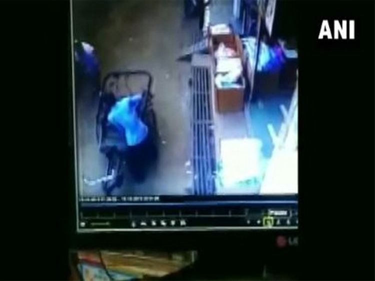 Miracle! 3-year-old child remains unhurt after falling from second floor apartment, video goes viral
