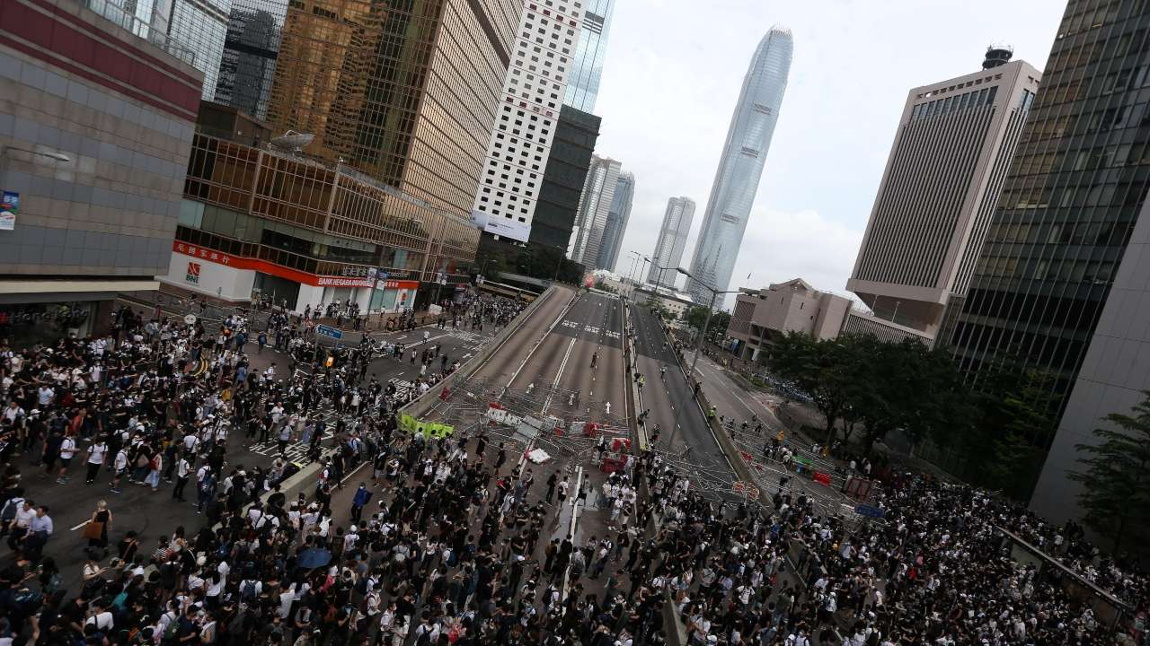 Hong Kong formally withdraws extradition bill following months of protests