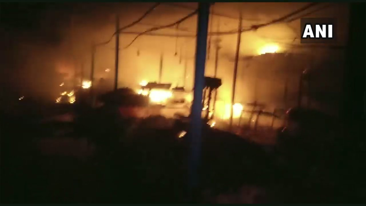 Dozens of fire incidents reported across India on Diwali; 70 shops destroyed in Odisha's Sambalpur