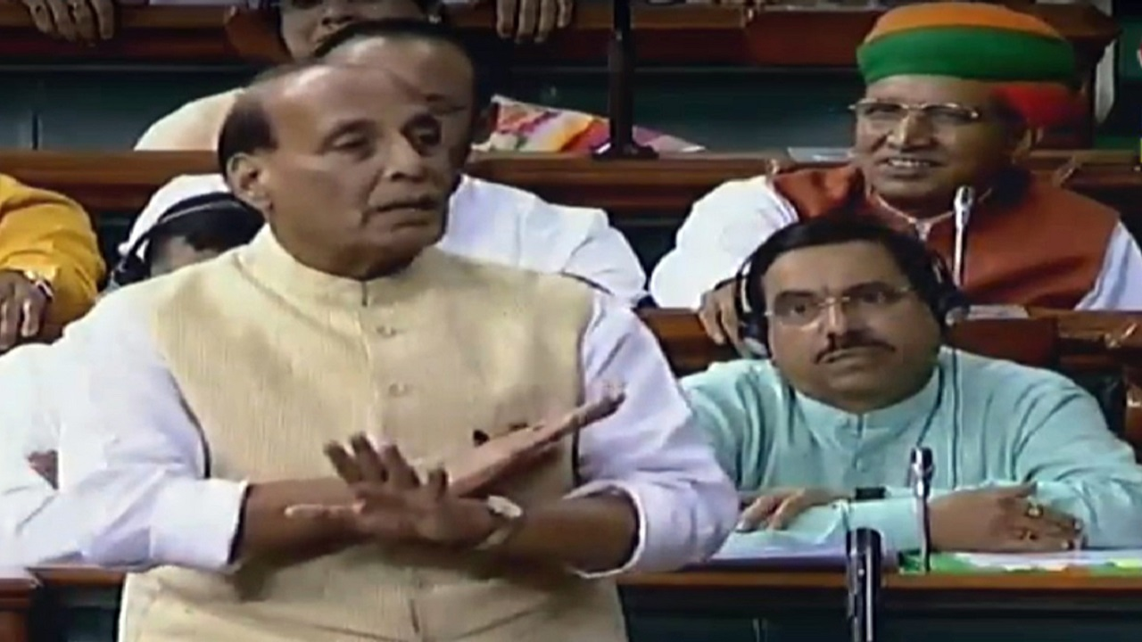 India developing infrastructure, airfields near China border to ensure unity, security & sovereignty: Rajnath Singh
