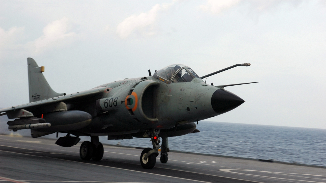 Decommissioned Sea Harrier fighter aircraft may join aircraft museum in Kolkata