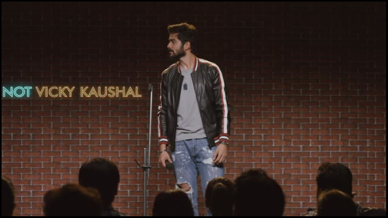 Watch: Vicky Kaushal's little brother Sunny Kaushal takes a dig at nepotism comment, compares it to marriage