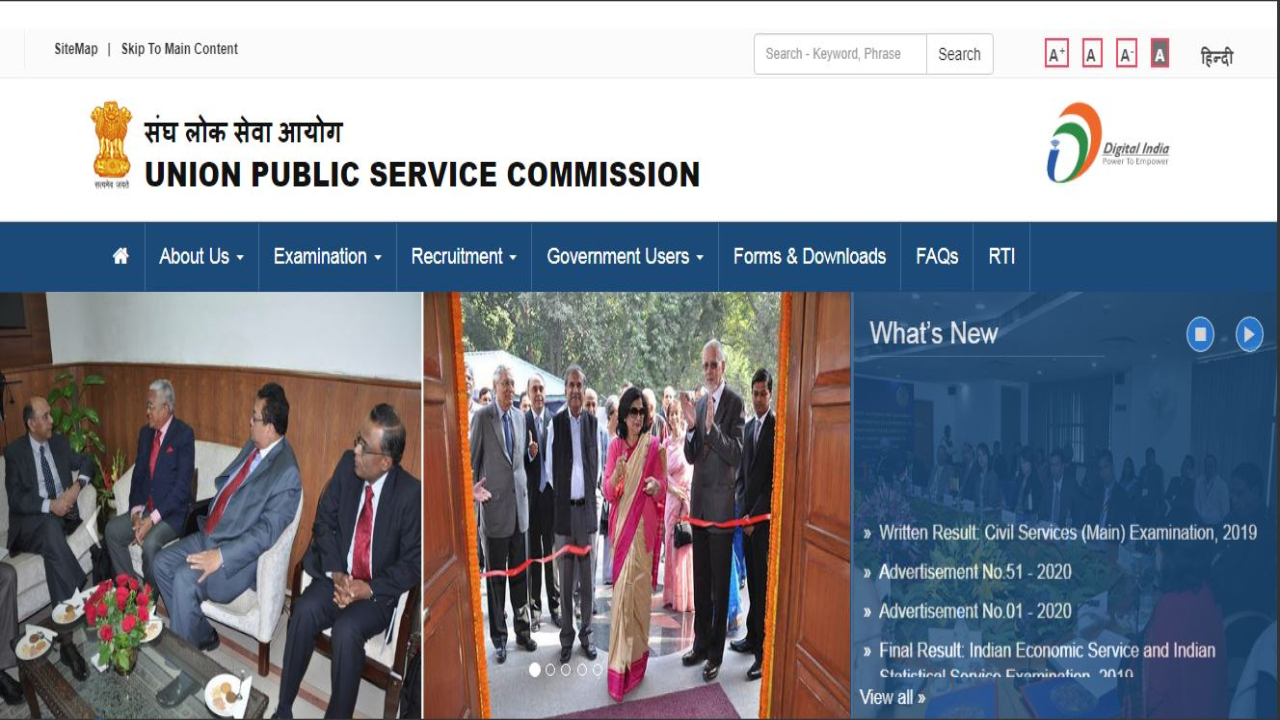 UPSC Mains Result 2019 released at upsc.gov.in; here's direct link