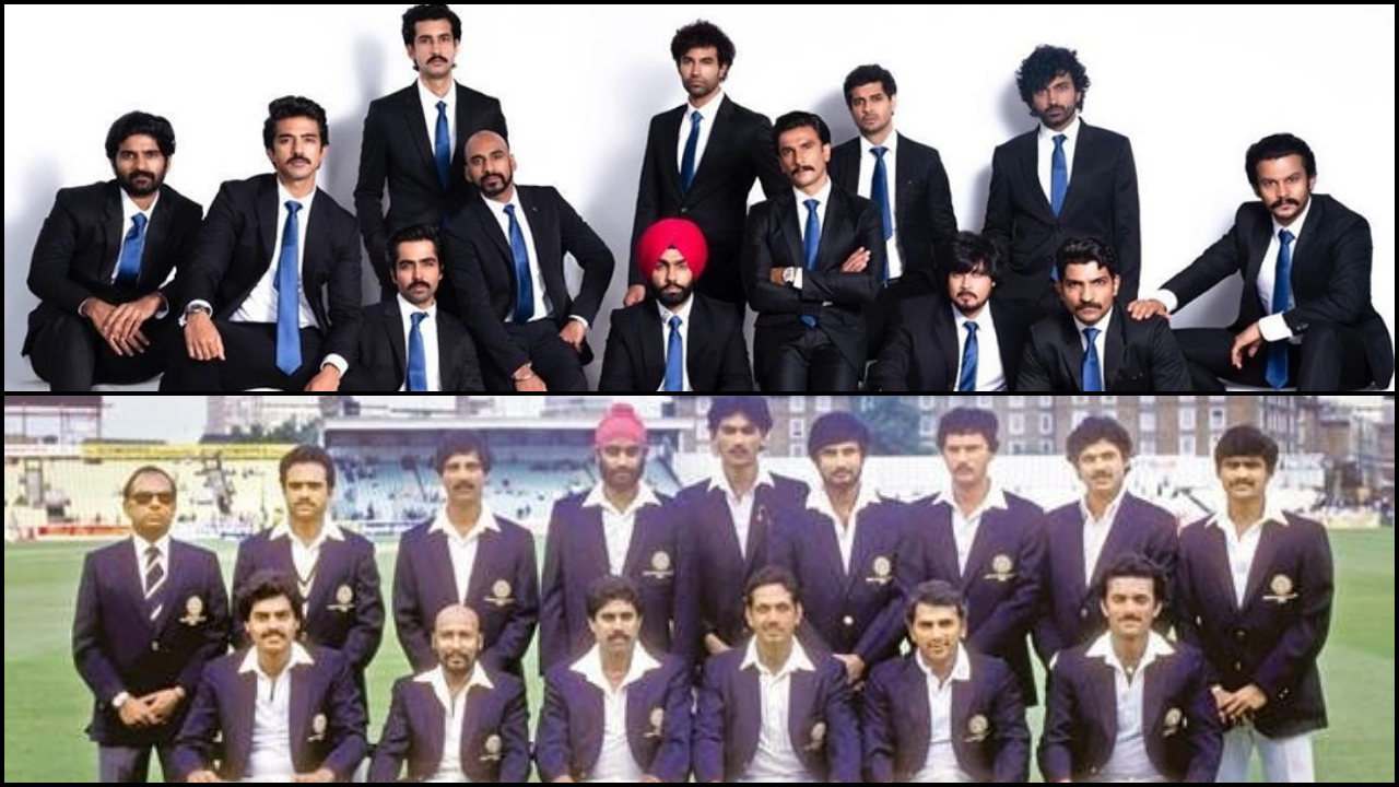 '83' Poster launch: Kapil Dev's 1983 World Cup squad to grace event with Ranveer Singh's team in Hyderabad