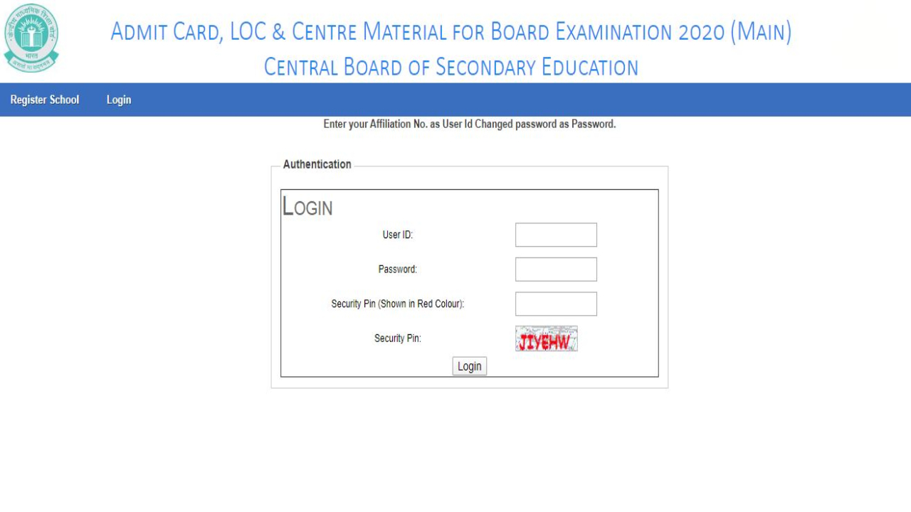 CBSE Board Exam 2020: Class 10 and 12 board exam 2020 admit card released at cbse.nic.in