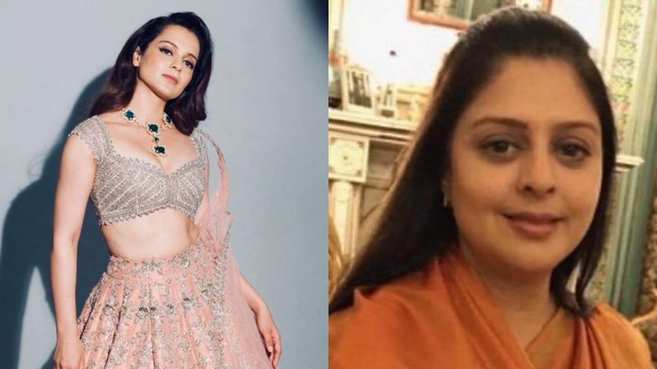 Actress-politician Nagma takes jibe at Kangana Ranaut, asks why hasn't she been summoned by NCB