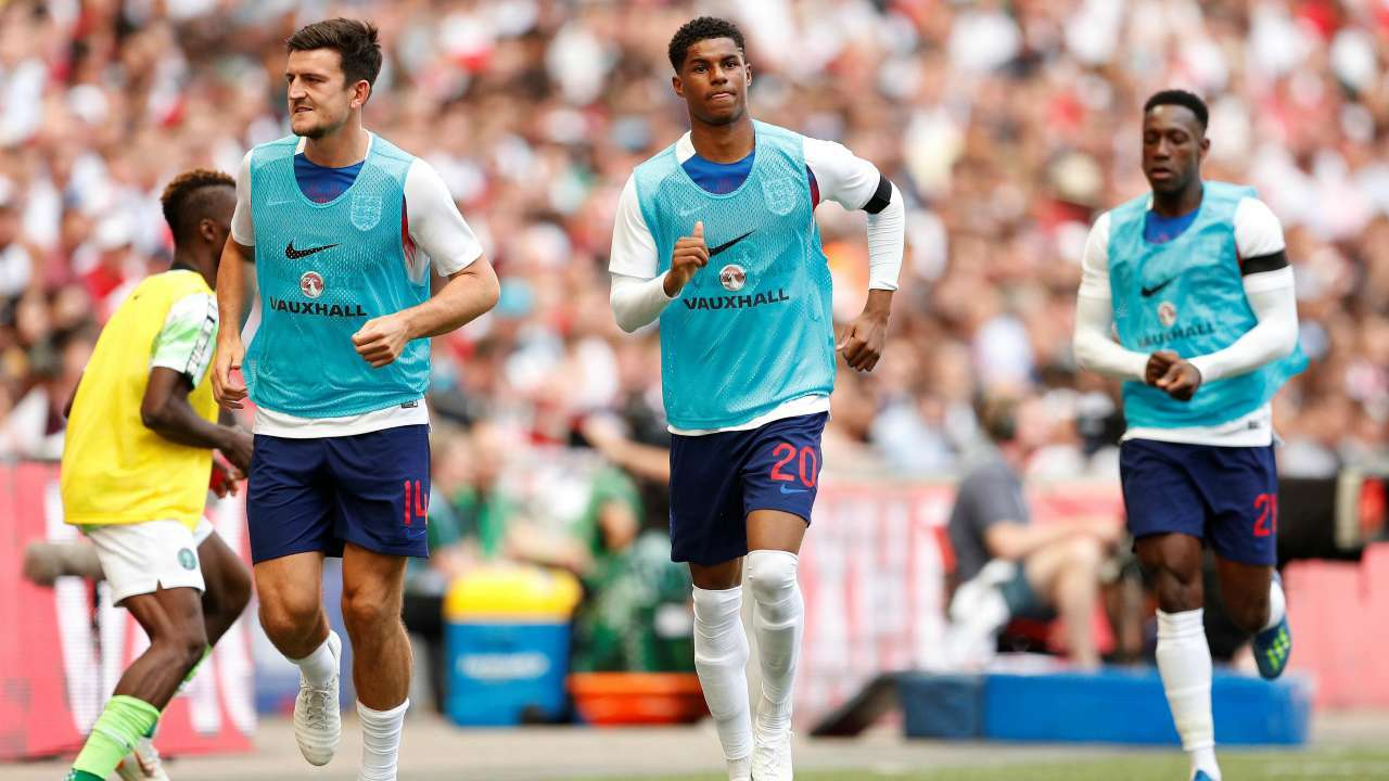 England's Marcus Rashford expected to train fully on Friday