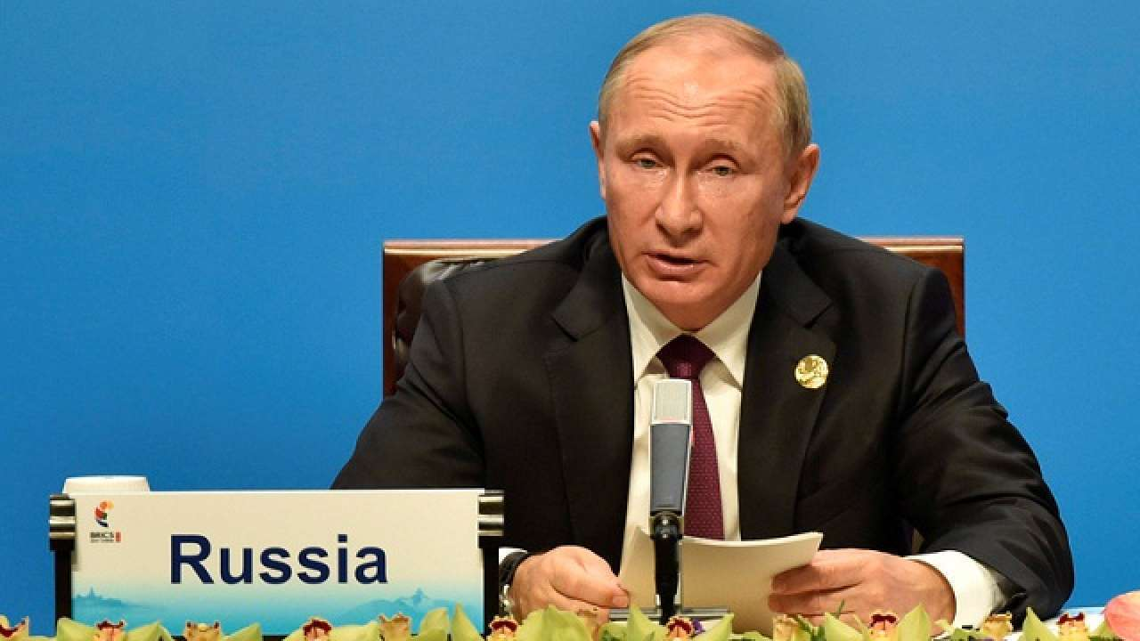 Russian President Vladimir Putin rejects G7 criticism, stresses cooperation