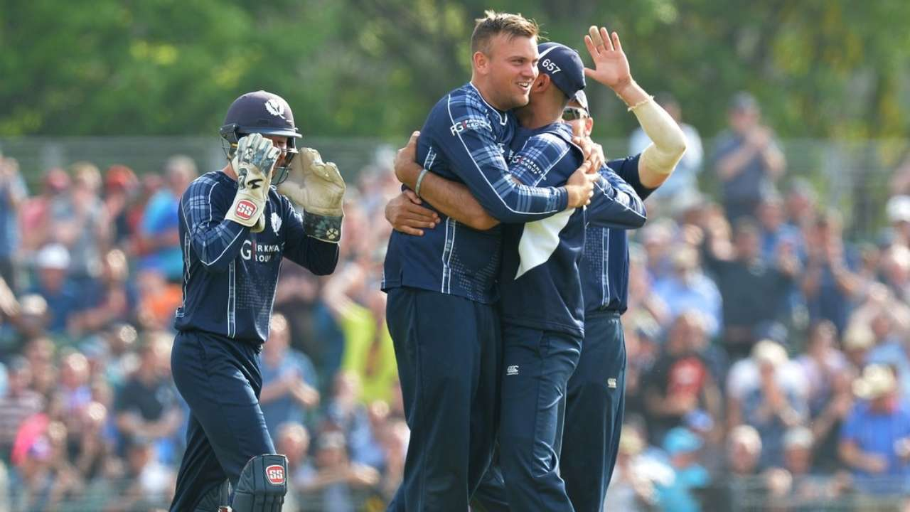 Pakistan crush Scotland by 48 runs in first T20I