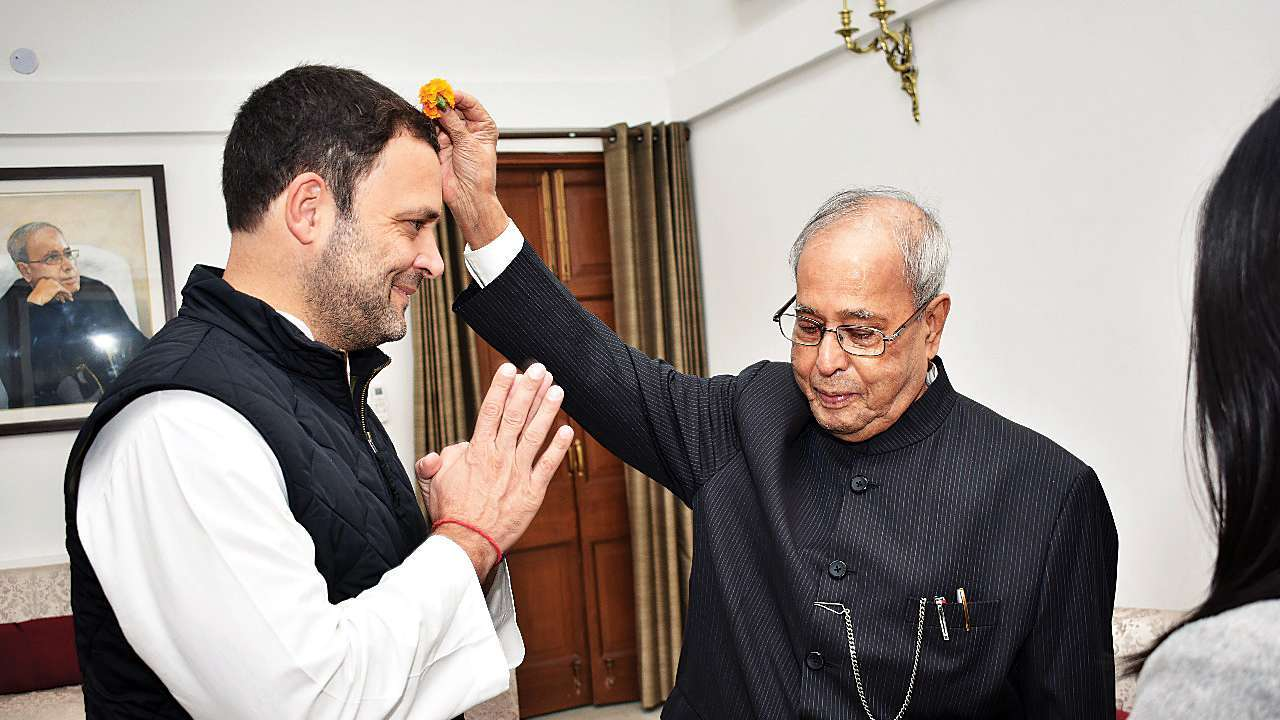 Congress confirmed Pranab