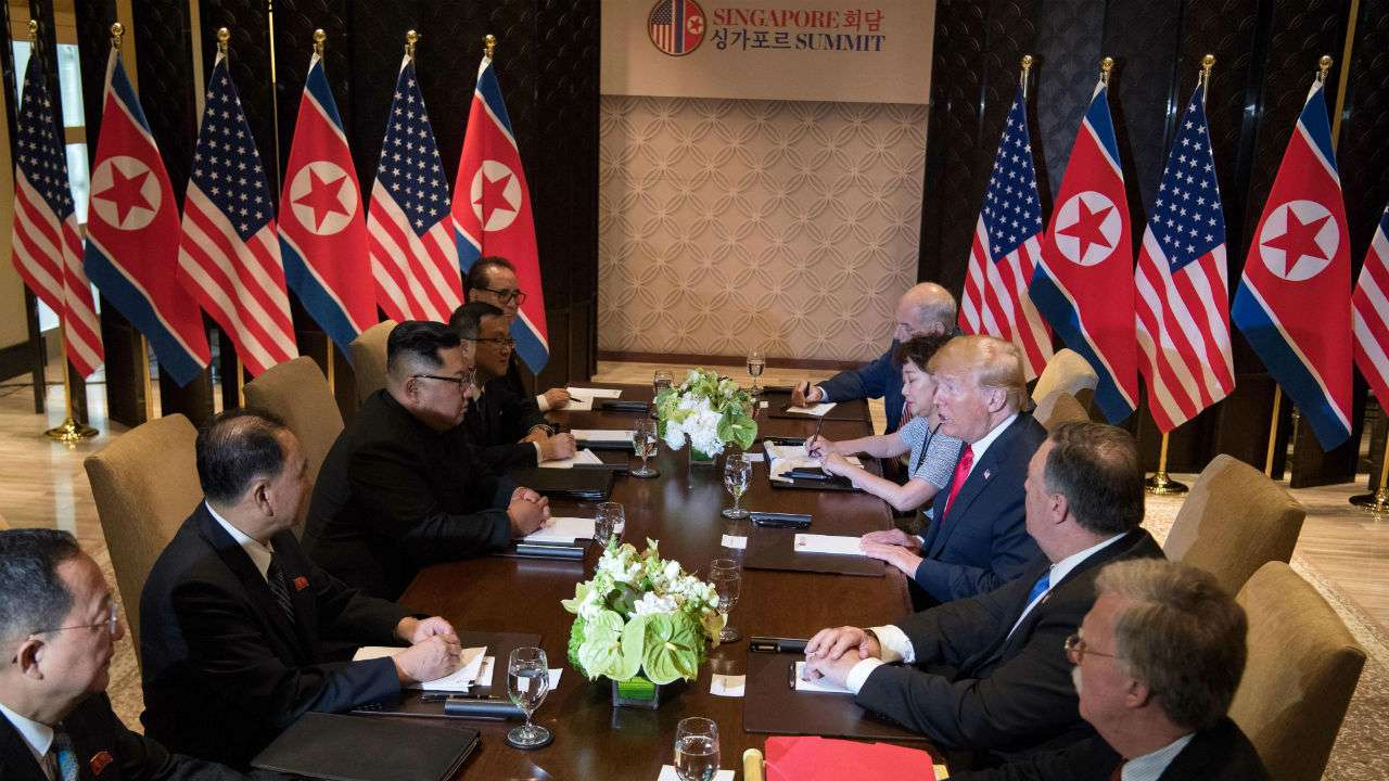 Trump Predicts 'Tremendous Success' In Summit With Kim