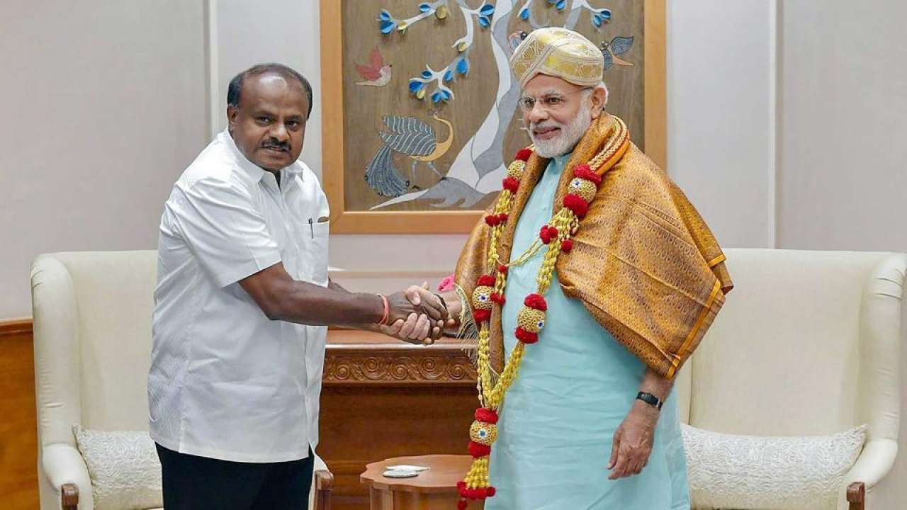 Fitness Challenge: Kumaraswamy thanks PM Modi; says more concerned about Karnataka's fitness