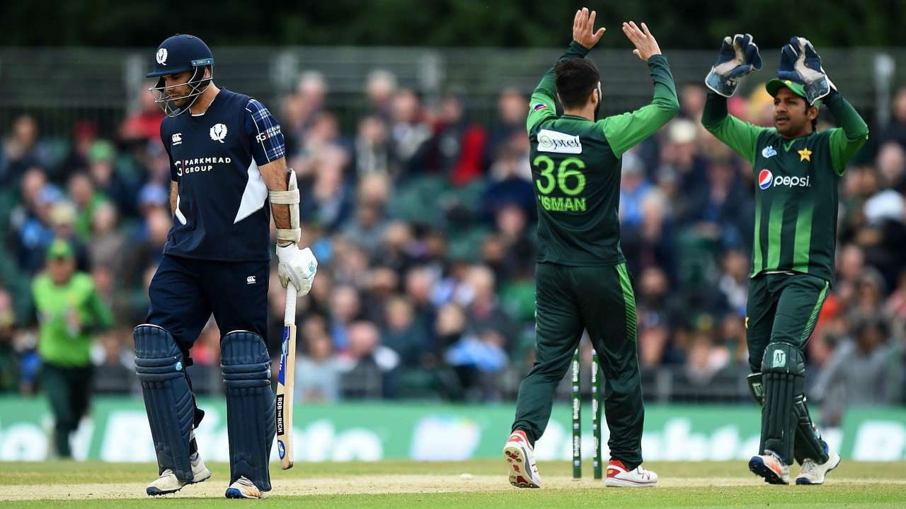 Pakistan's 2-0 series win over Scotland, is their 8th consecutive series win in T20I cricket. (Photo - getty images)