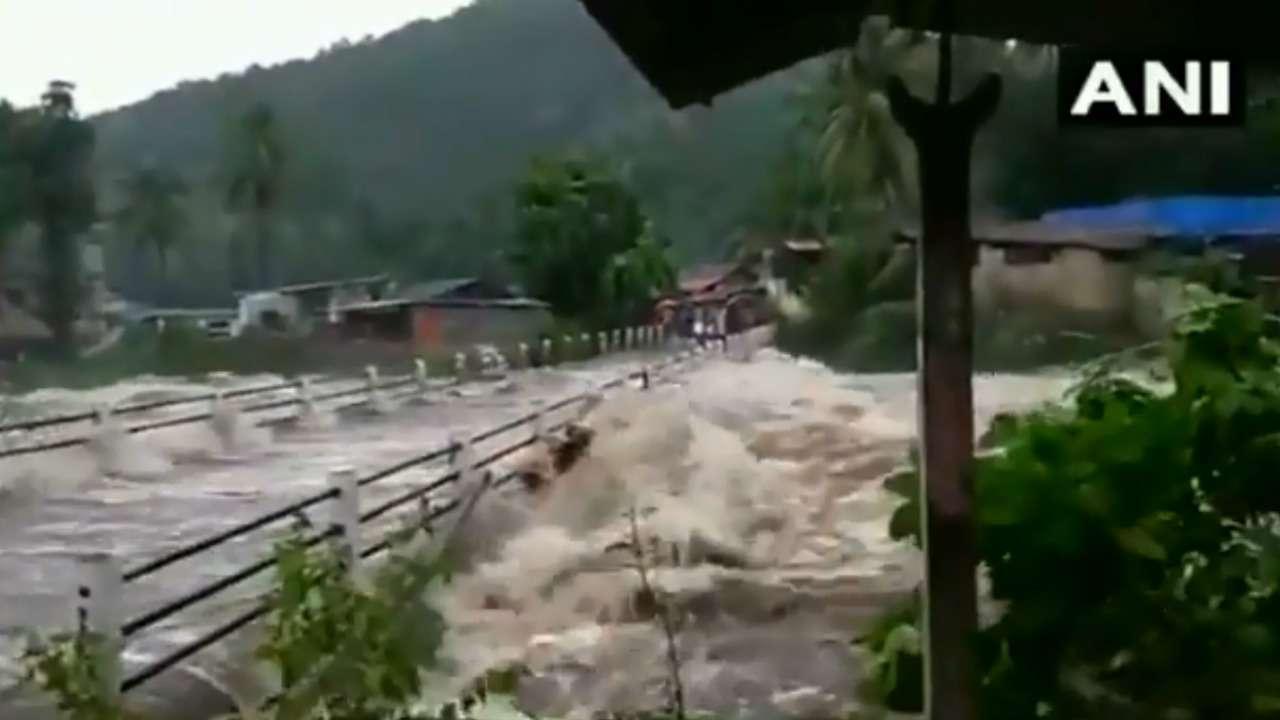 Kerala Rains Three Killed In Landslide In Kozhikode
