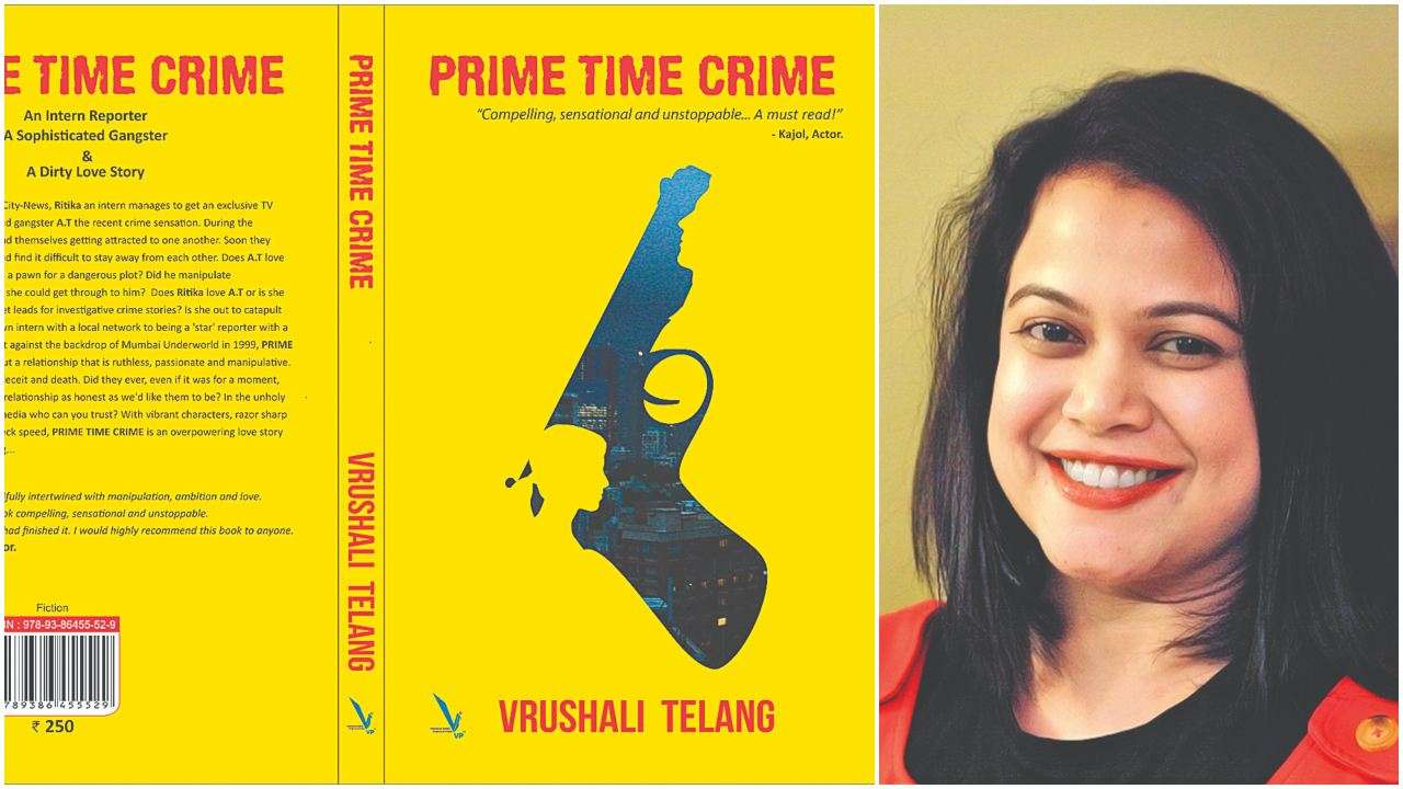 'In a thriller, plot needs to be watertight', says Prime Time Crime author Vrushali Telang