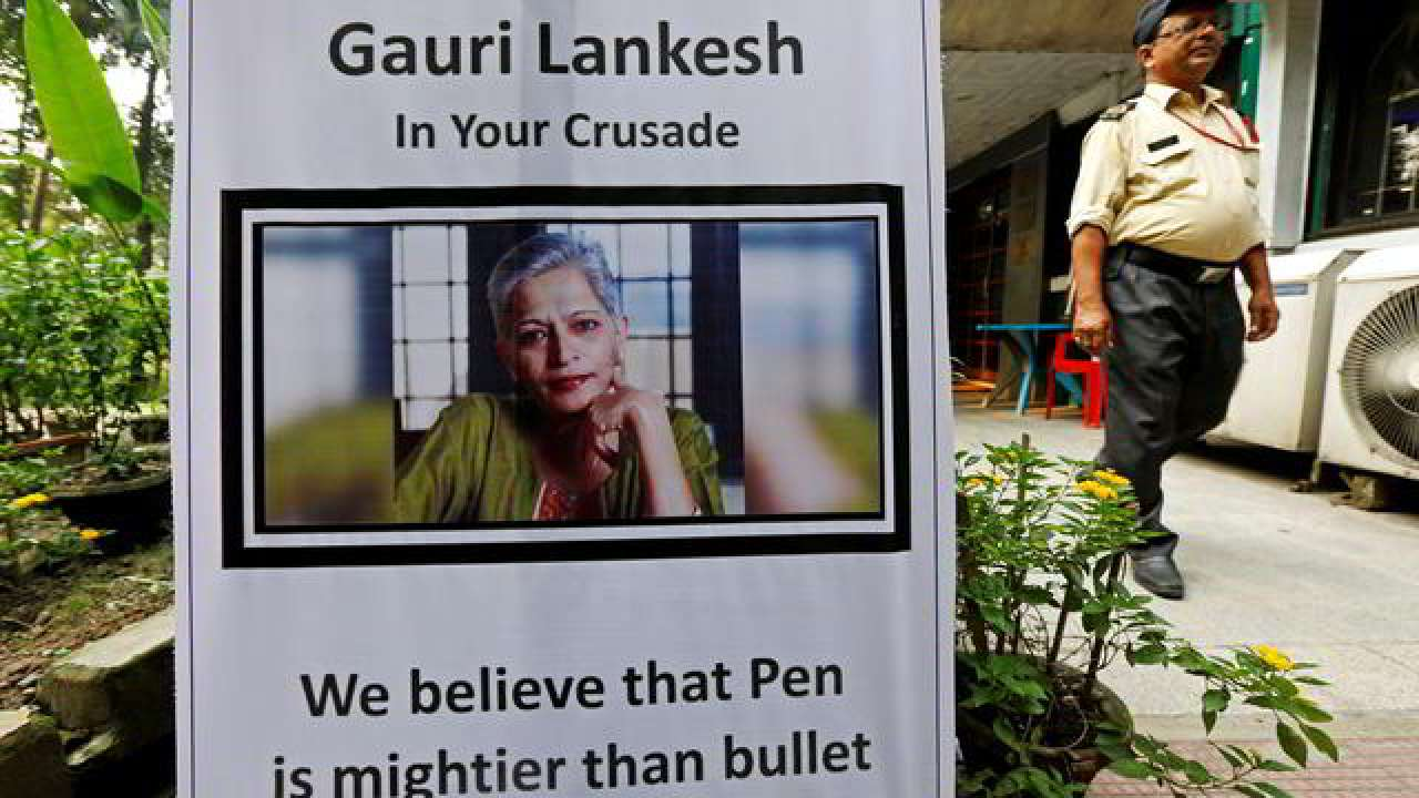Gauri Lankesh's killer 'confesses' he killed her to 'save his religion'