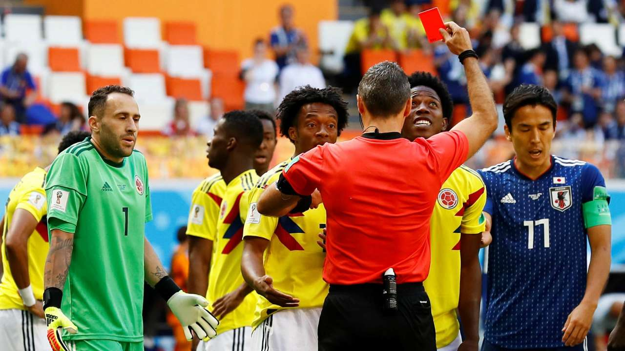 Image result for FIFA red card