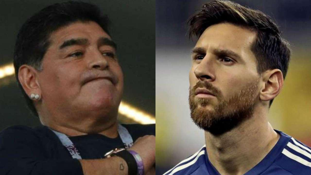 Simeone slams Argentina 'anarchy', takes jab at Messi