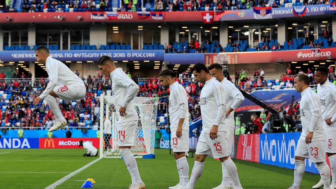 Serbia V S Switzerland Today In Fifa World Cup 2018 Live