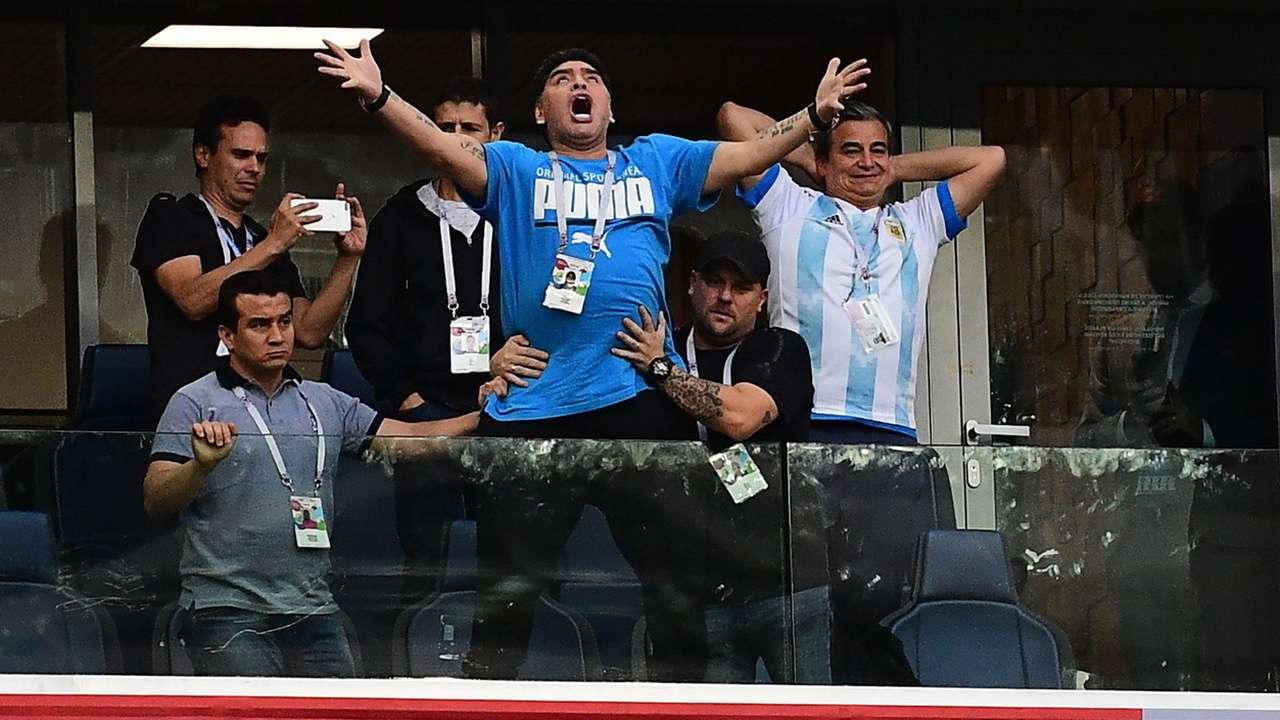 Image result for maradona cross 2018