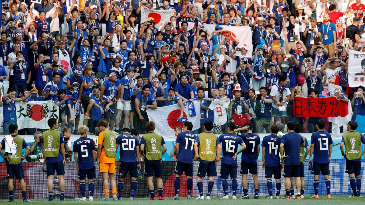 Japan in the world cup
