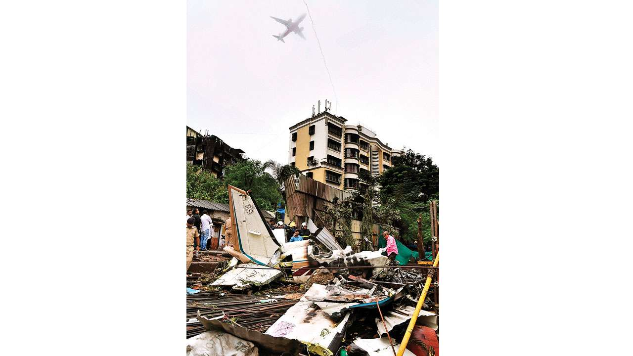 Ghatkopar Plane Crash: Extremely loud, incredibly close, says Residents