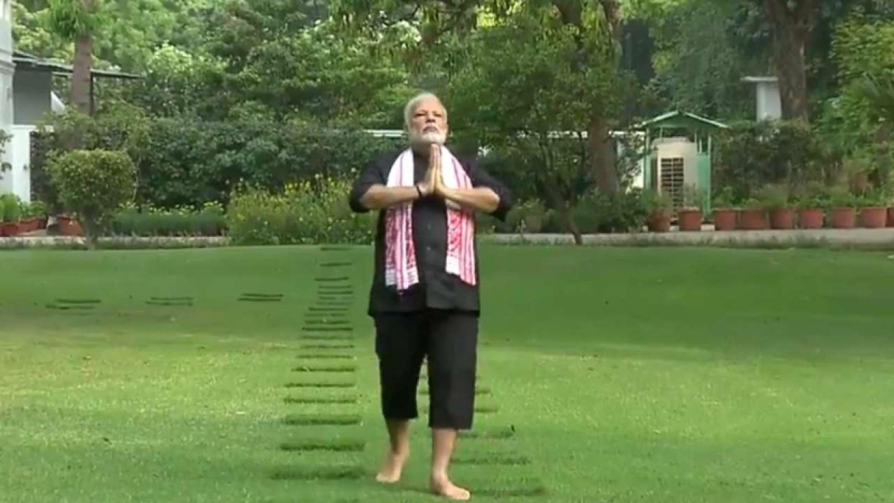 Image result for modi yoga 35 lakh