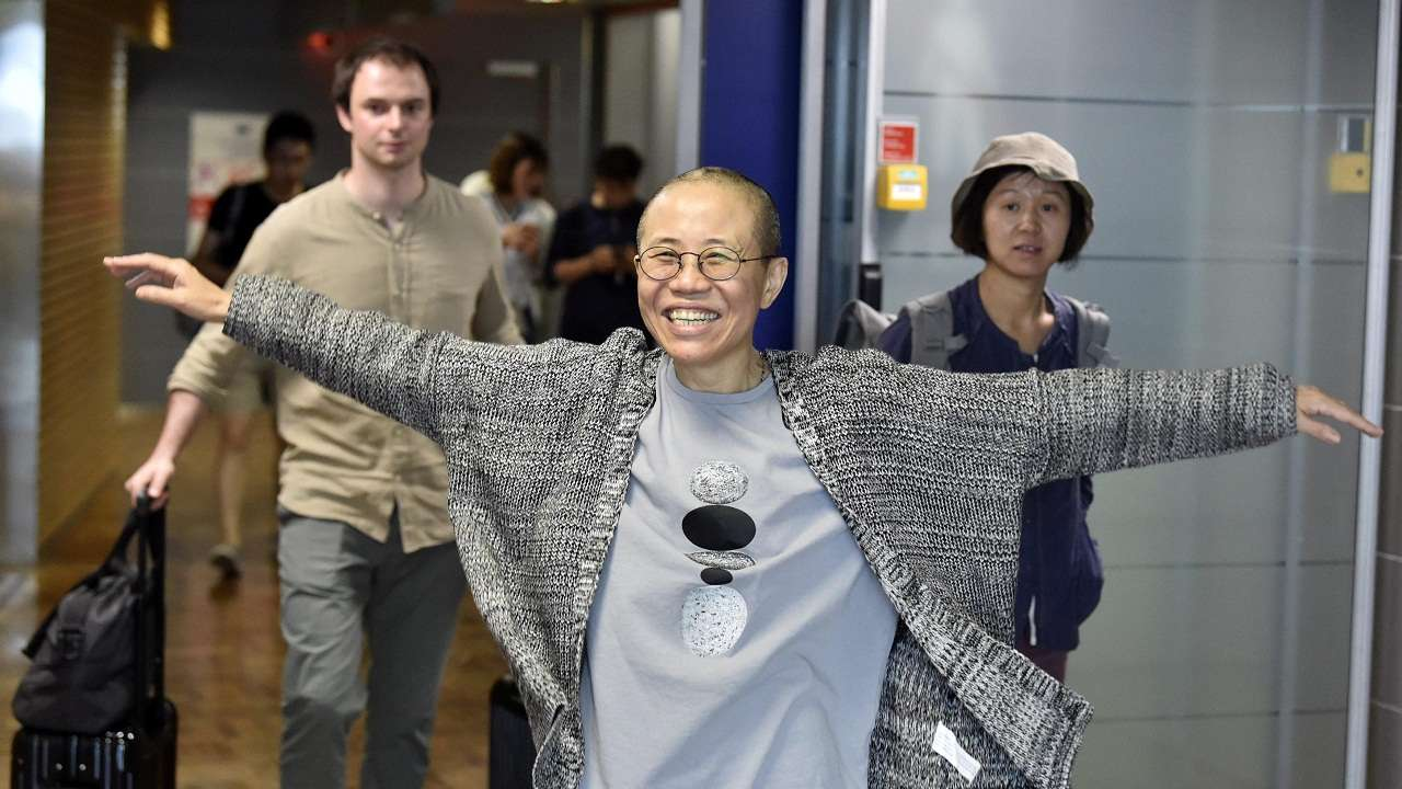 China says Liu Xia went to Germany for medical treatment