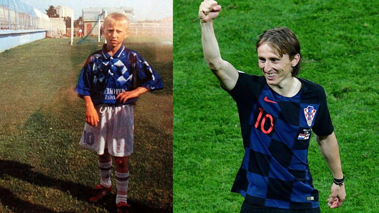Luka Modric (Then and Now)