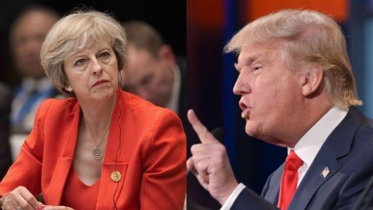 Donald Trump says May's Brexit plan kills hope of a US ...