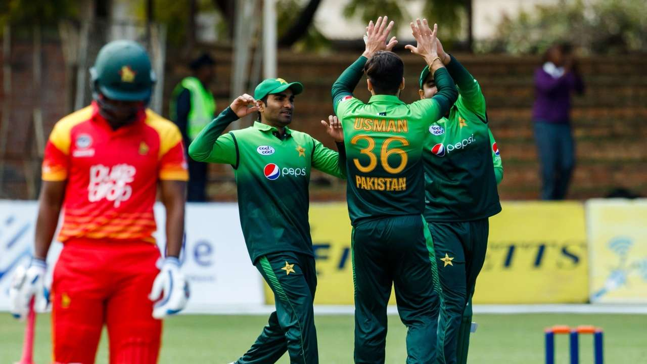 Pakistan scroll to a 201-run win