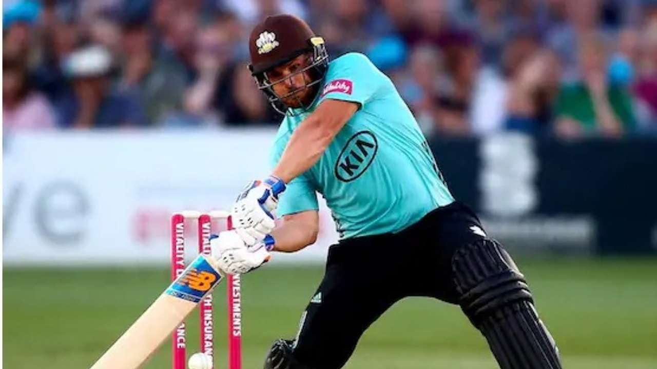 Australia's Finch sets Surrey record with T20 ton