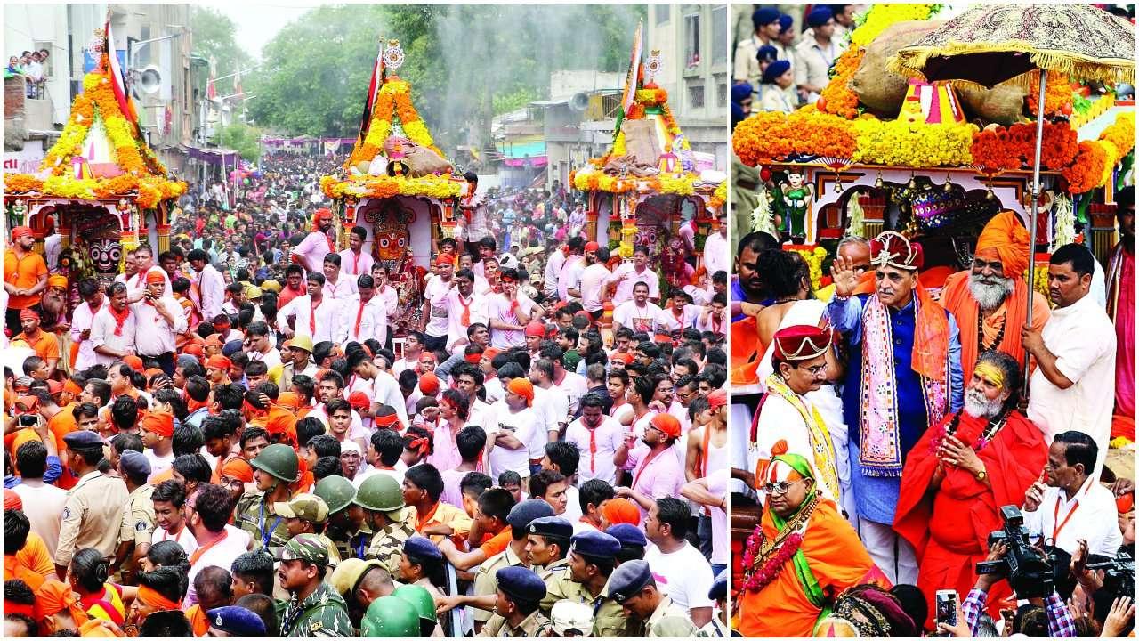 Ahmedabad: Jagannath's tour of city peaceful