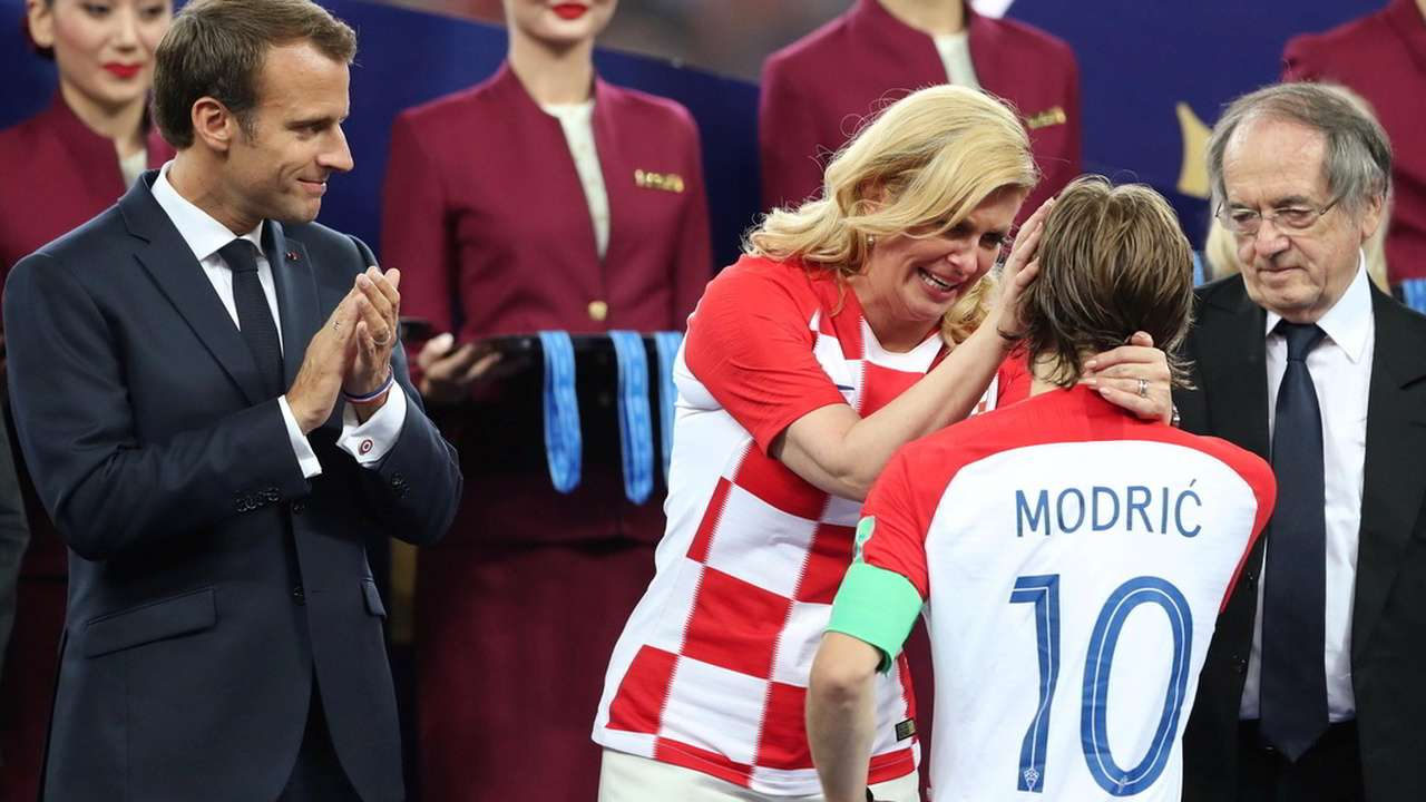 See Pics Croatian President Kolinda Grabar Kitarovic Wins The Internet With Her Celebration At World Cup Final