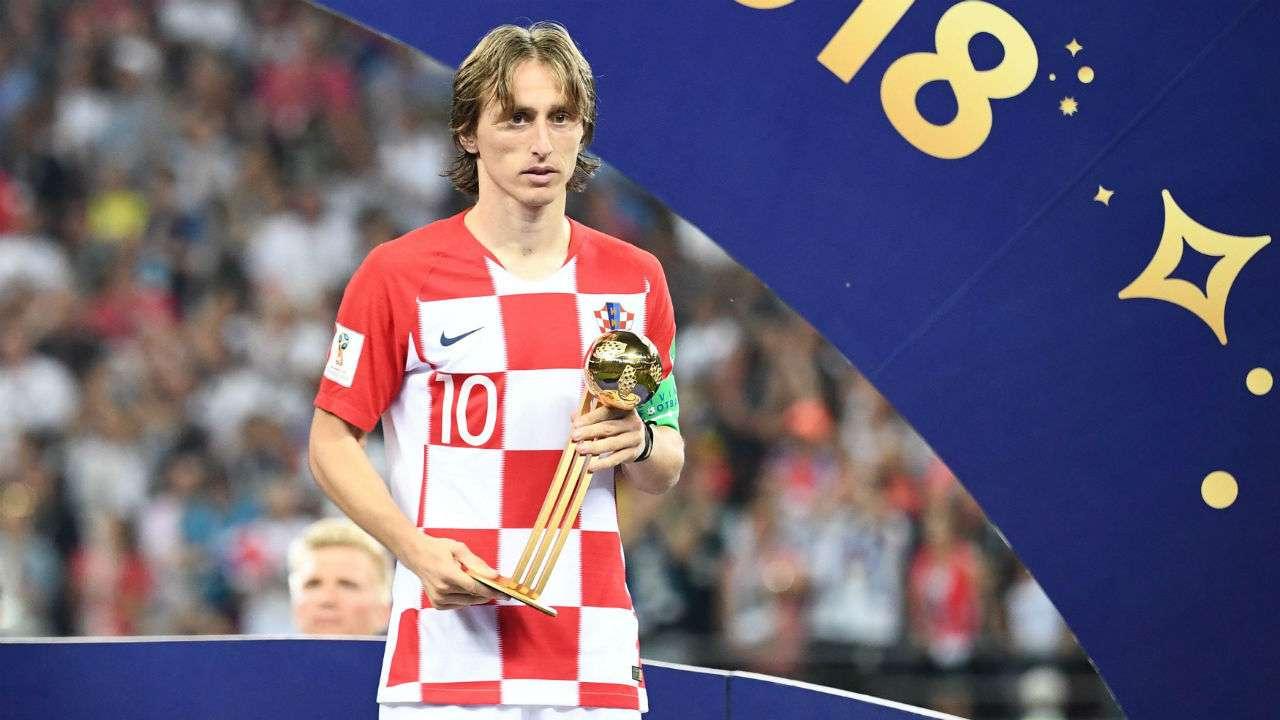 FIFA World Cup 2018 Golden Ball winner Luka Modric finds best player award 'bittersweet' after ...