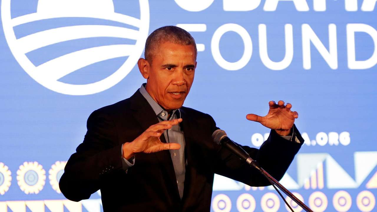 Obama warns of odd  times in Madiba tribute