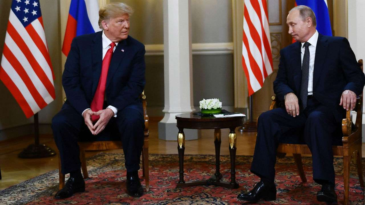 Donald Trump backtracks on Helsinki remarks, says he 'misspoke'