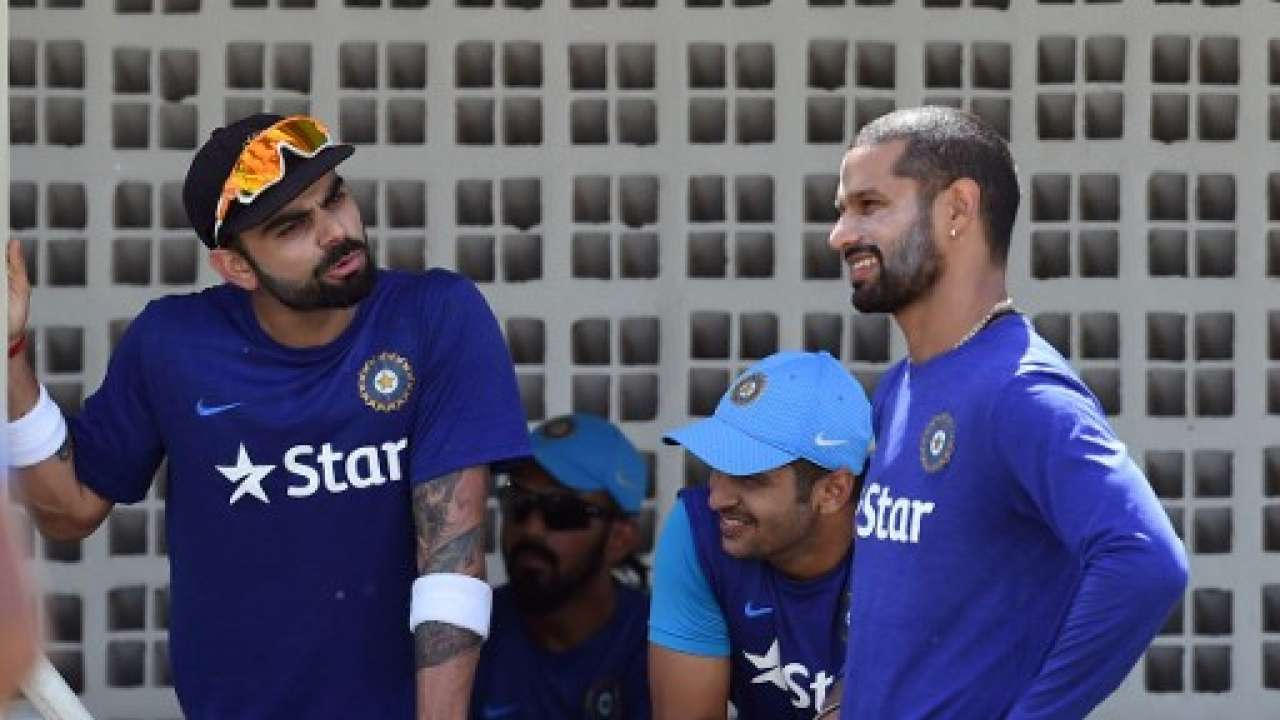 Kohli and Dhawan