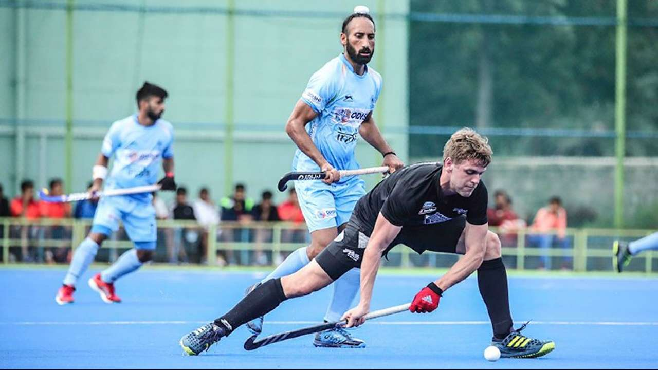 India men's hockey team defeats New Zealand, takes unassailable 2-0 lead in Test series