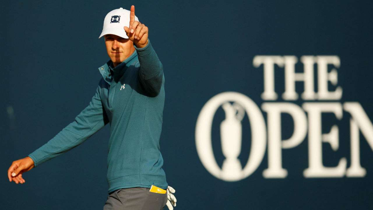 Spieth in 3-way tie for Open lead