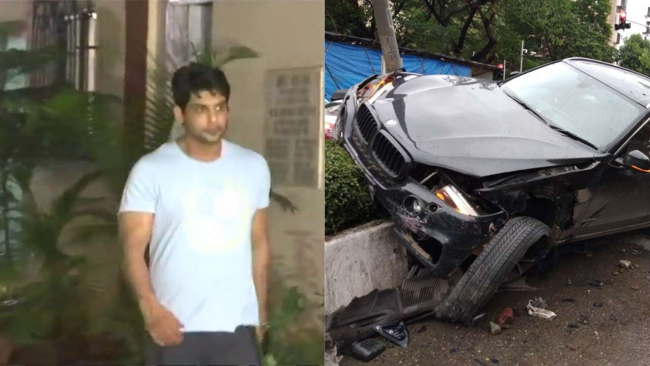 TV Actor Sidharth Shukla Rams His BMW Into 3 Cars, Arrested!