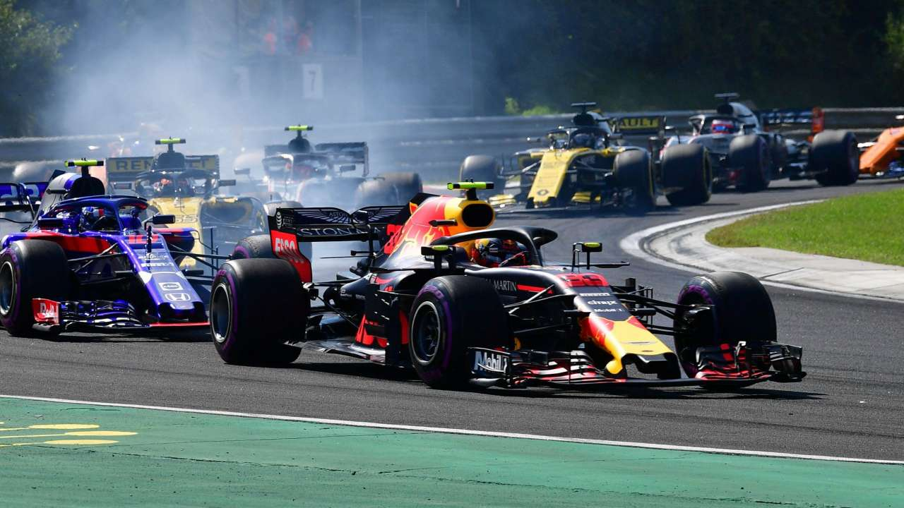 Sorry, says potty-mouth Max Verstappen after on-air tirade