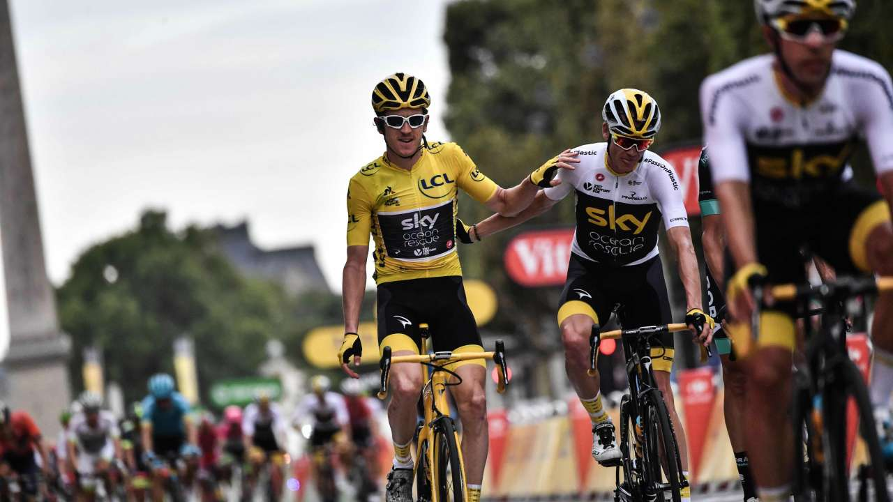 Geraint Thomas wins Tour de France