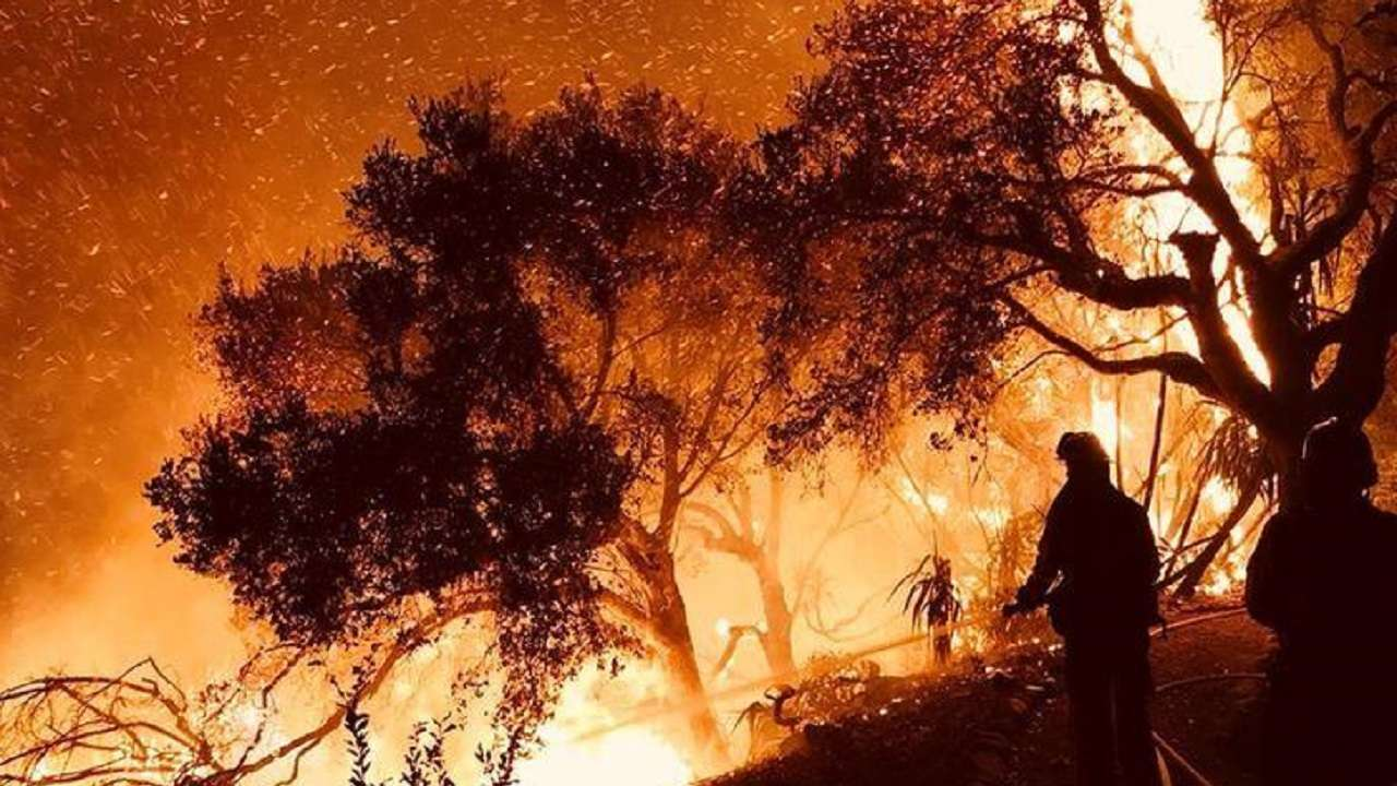 California Firefighters Work 48-Hour Shifts to Battle Deadly Blaze