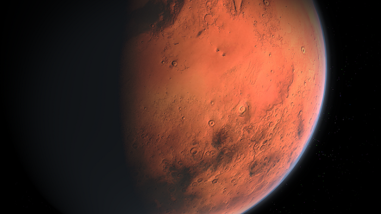 Why Mars looks brighter in the night sky