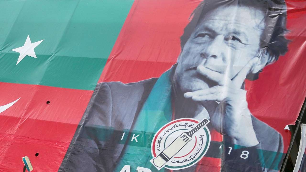 Imran Khan's party says it has enough support to form Pakistan government