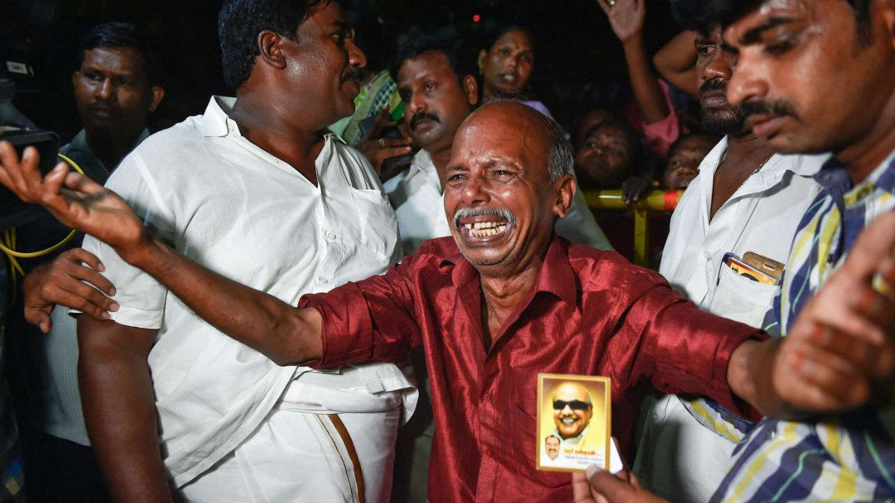 Image result for m karunanidhi passes away